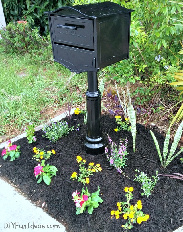 should i cement my mailbox post 1