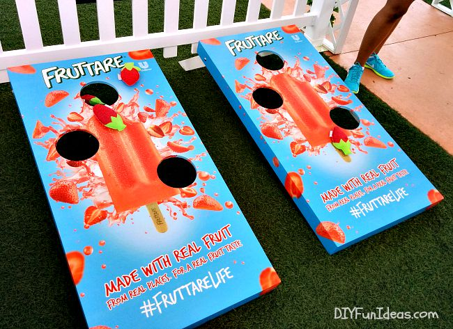 FUN IN THE SUN WITH FRUTTARE FRUIT BARS