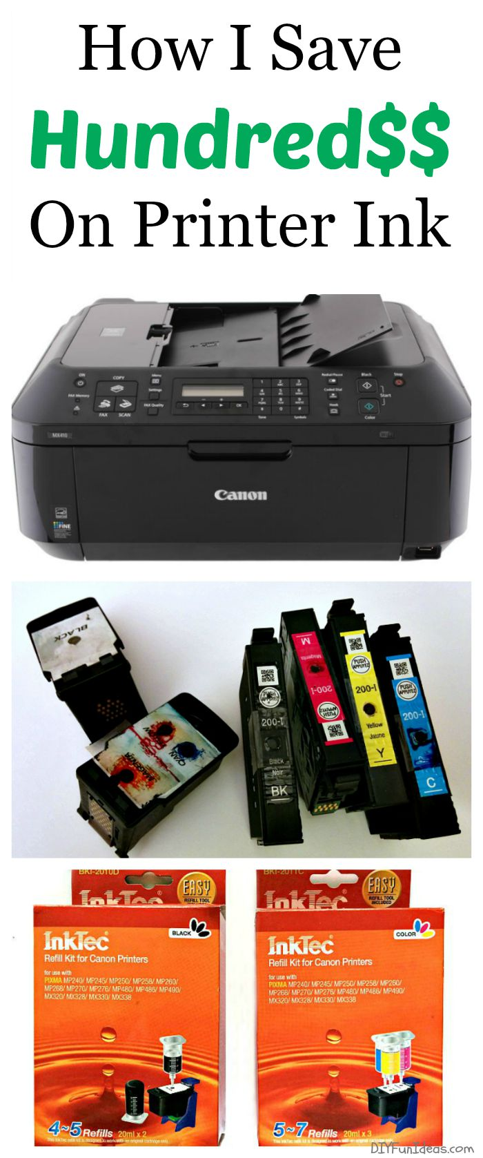 HOW I SAVE HUNDRED$$ ON PRINTER INK