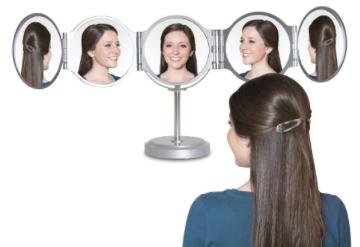 360 Degree 5x Magnification Mirror