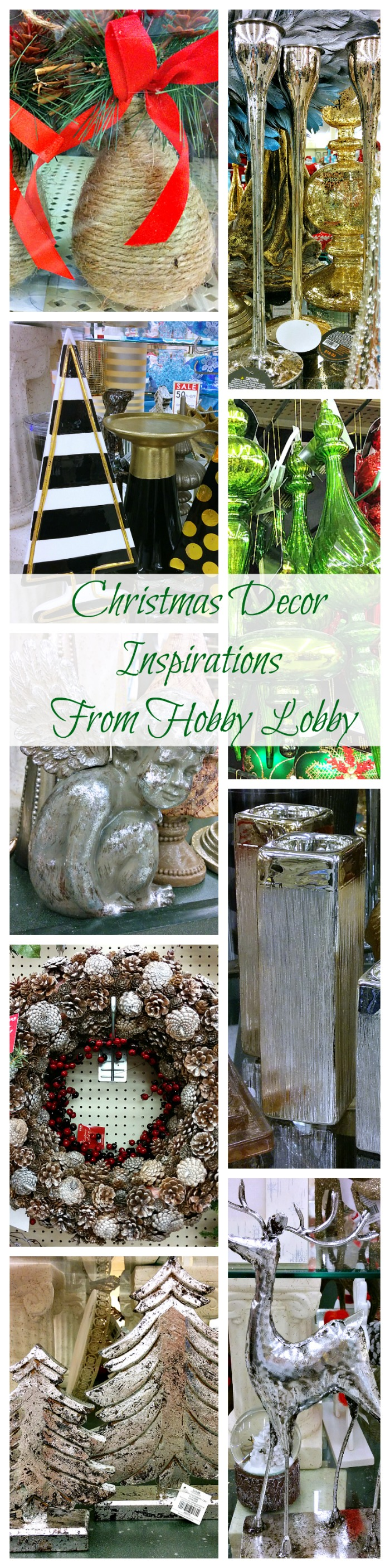 christmas decor ideas inspirations from hobby lobby - Hobby Lobby After Christmas Sale