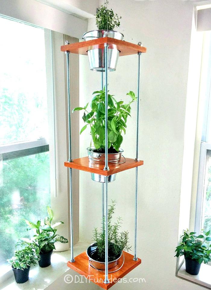 diy hanging herb garden - Hanging Herb Garden