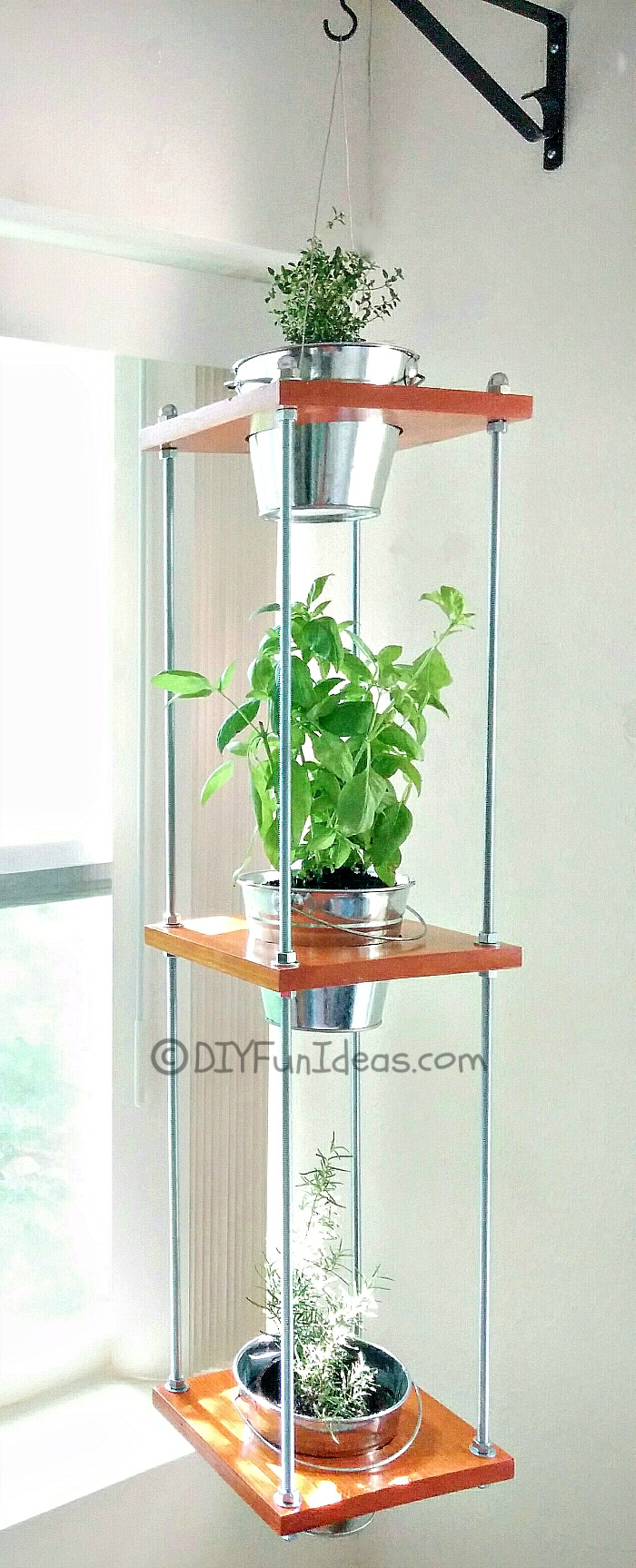 DIY HANGING HERB GARDEN...Industrial Style - Do-It-Yourself Fun Ideas