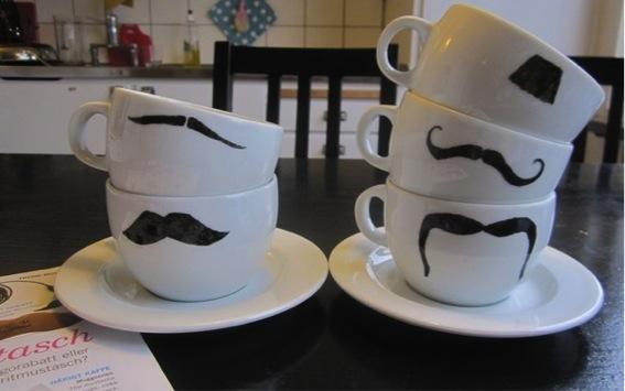 porcelain paint tea cups
