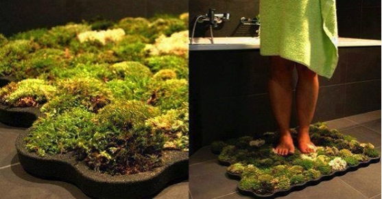 Diy moss bath mat do it yourself fun ideas for Moss shower mat