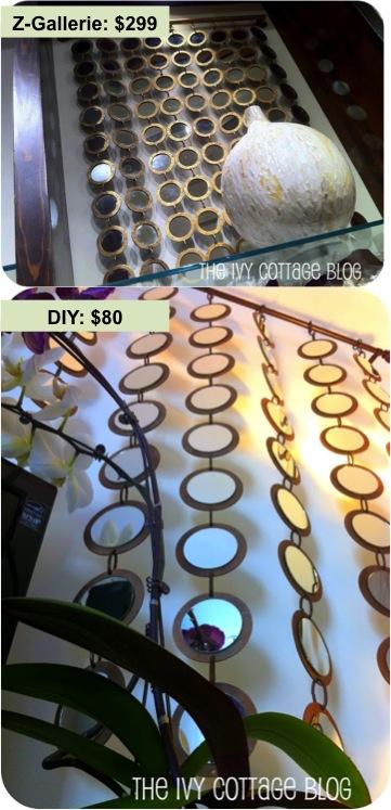 source: Z-Gallerie; make-handmade.com