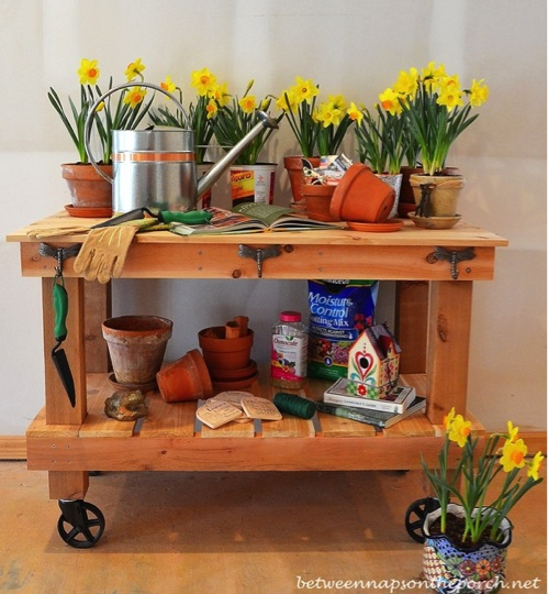 Build Your Own Diy Pottery Barn Inspired Potting Table And Save 1000 Do It Yourself Fun Ideas