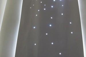 diy twinkle curtain