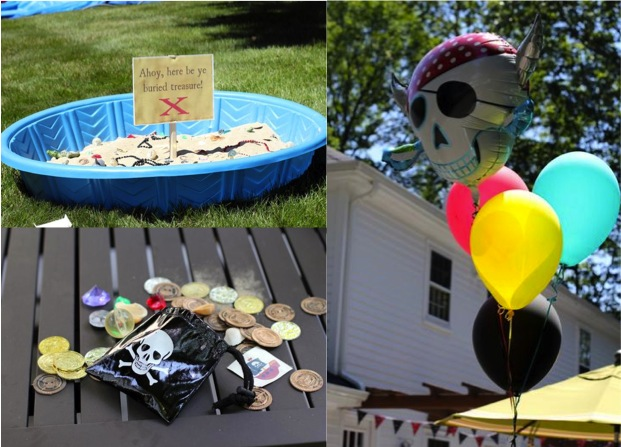 how to throw a pirate themed party