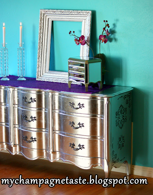 How To Silver Leaf Furniture Do It