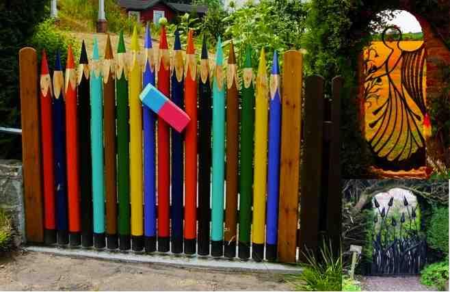 20 Amazing Amp Unique Garden Gate Ideas Do It Yourself Fun