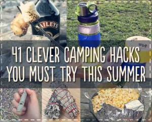 41 clever camping hacks