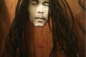 DIY Bob Marley Cord Storage