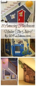 playhouses under the stairs