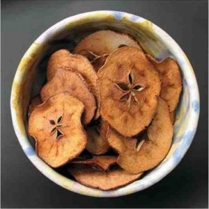 Apple spice chips