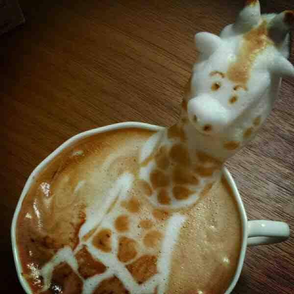 coffee foam art twitter