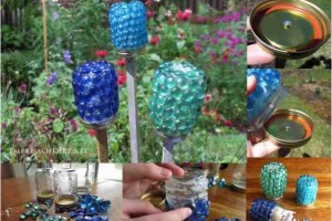 diy garden treasure mason jars