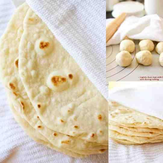 diy homemade tortillas recipe
