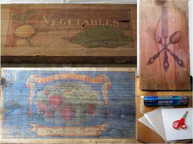 diy how to print picture images on wood