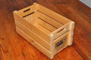 diy wine crate