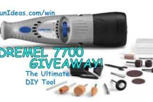 win a dremel 7700 rotary tool