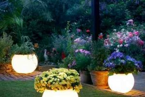 how to make a glow in the dark planter