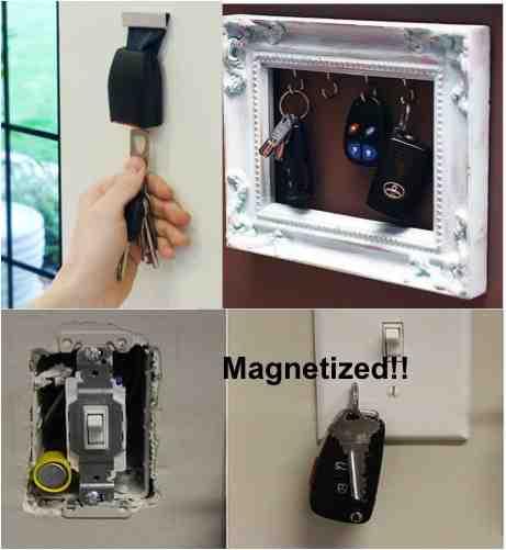 DIY Key holders racks