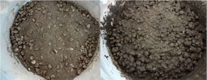 diy concrete hand planters 18