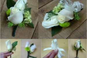 diy how to make a corsage