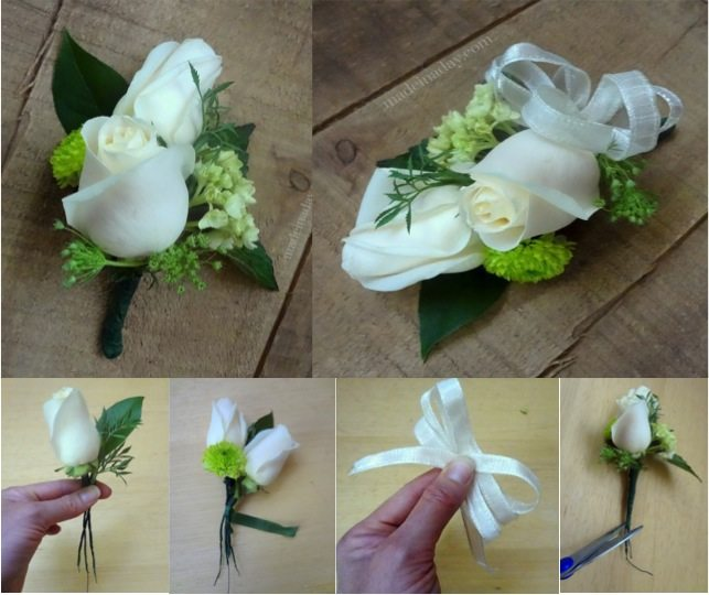 How To Make A Corsage Do It Yourself Fun Ideas
