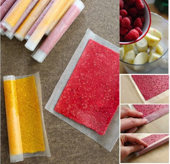 how to make diy fruit rollups