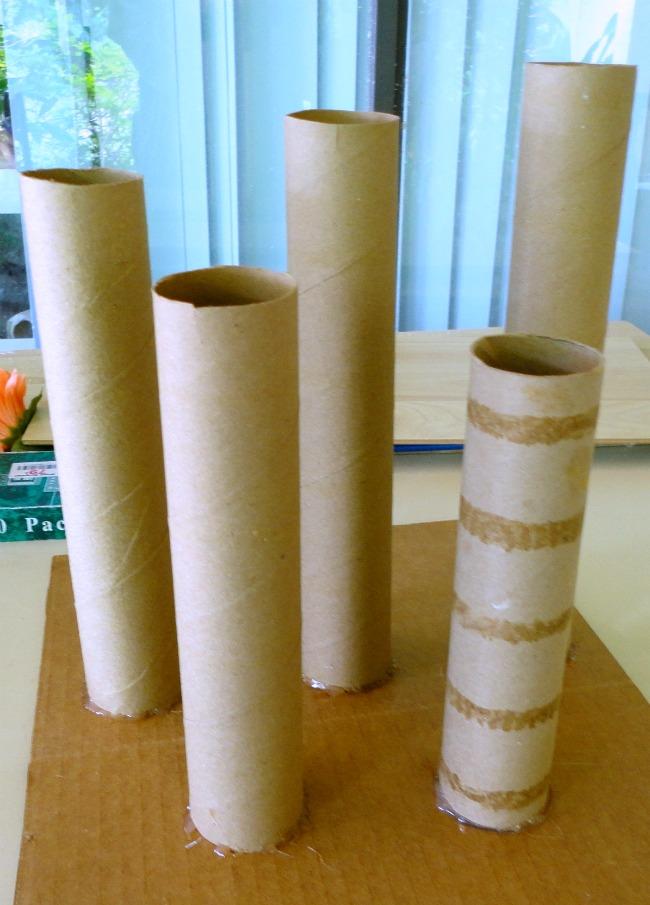 DIY Concrete TeaLight Candle Sticks