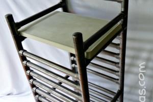 DIY CONCRETE PVC BAR STOOL