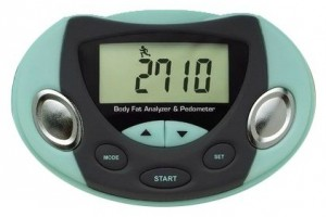 Body Fat Analyzer AND Pedometer