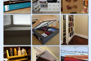 20 AWESOME HIDDEN STORAGE SPACES