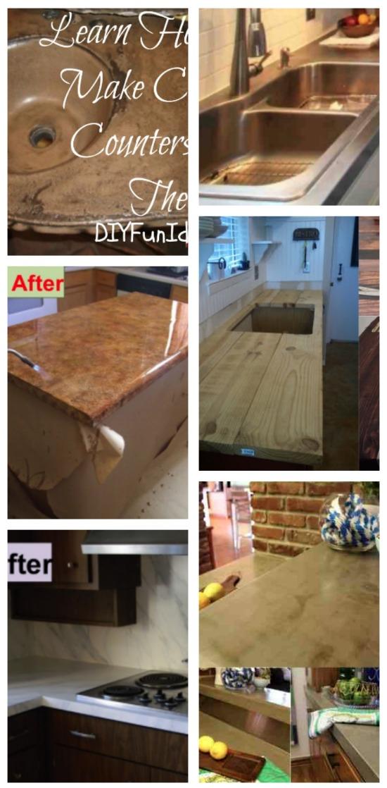 DIY Countertops