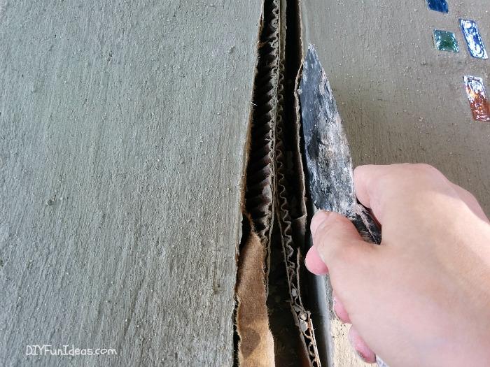 DIY MODERN GEOMETRIC STEPPING STONES