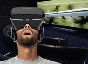 3-D Virtual Reality Headset