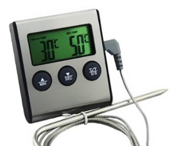 Digital BBQ Grill Food Probe Thermometer