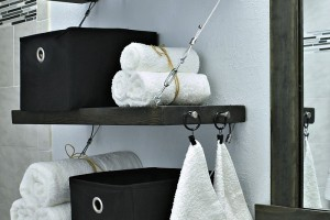 HOW TO MAKE STEEL CABLE SUSPENSION SHELVES