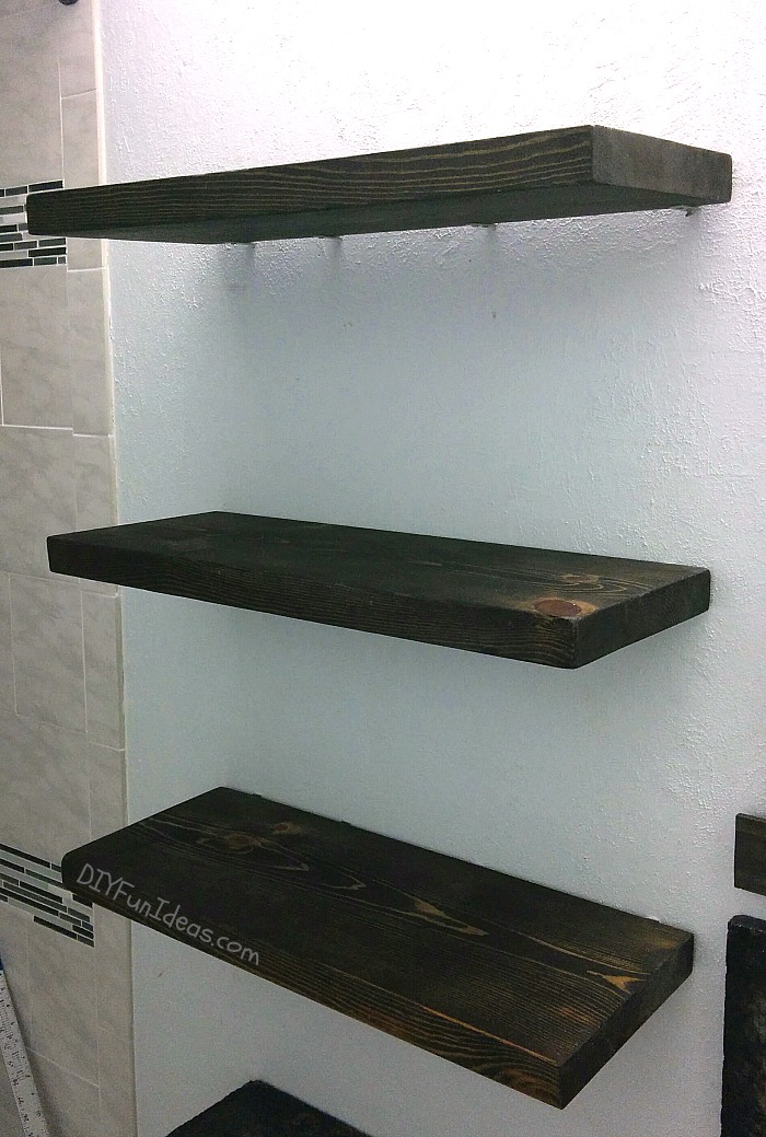 HOW TO MAKE DIY STEEL CABLE SUSPENSION SHELVES