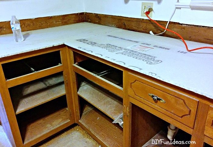How To Make Beautiful White Cast In Place Concrete Countertops
